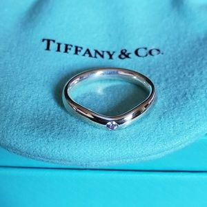 New! Tiffany & Co Elsa Peretti Tanzanite Ring